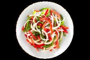 Mezcla Pimiento Verde – Rojo y Cebolla