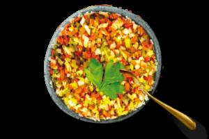 Arroz de Coliflor, Brócoli y Zanahoria
